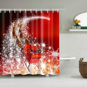 Custom Bathroom Shower Curtain Decor Art Prints Waterproof Polyester (71x71 Inches)