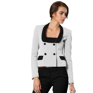 Double Breasted Short Jacket For Women
