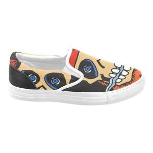 Custom Canvas Fashion Shoes For Men