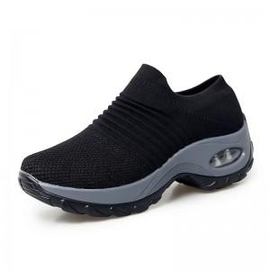 Custom Fashion Casual Air Cushion Sock Shoes For Women